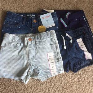Brand new 2t shorts for girls 4 for 15 bucks!
